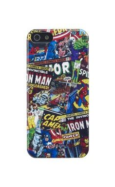 Anymode Marvel Comics Avengers Collection Hard Case for Apple iPhone 5