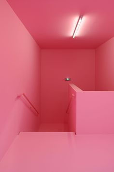 Dominique Coulon & Associés, David Romero-Uzeda · Nursing home in Pont-sur-Yonne Pink Lila, Coral Pink, Pastel Pink, Bright Pink, Murs Roses, Design Simples, Aesthetic Colors, Dominique, Pink Room