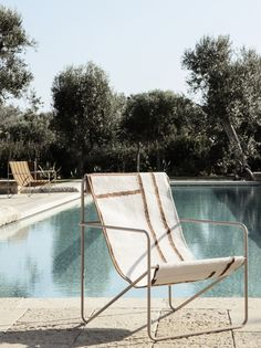 The Spring-Summer 2020 collection from Ferm Living - Nordic Notes Outdoor Chairs, Outdoor Furniture, Outdoor Decor, The Cool Republic, Storage Chair, Structure Metal, Lounge Design, Textiles, Hello Summer