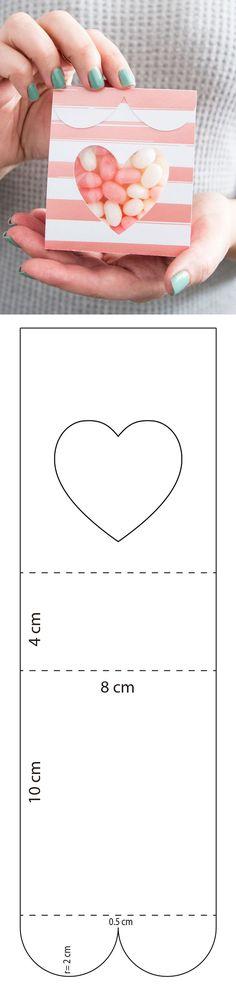 Descarga gratis el molde en mi sitio web Paper Gift Box, Diy Gift Box, Diy Box, Paper Gifts, Diy Paper, Diy Gifts, Diy Arts And Crafts, Crafts For Kids, Diy Crafts For Boyfriend