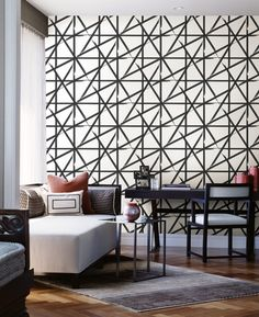 The wallpaper Eclipse - from Decorline is a wallpaper with the dimensions x m. The wallpaper Eclipse - belongs to the popular wallpape Living Room, Furniture, Deco, Home Decor, Beautiful Wallpapers, Room Divider, Contemporary Rug, Contrasting Colors, Wall Coverings