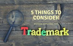 Are you ready to file the trademark registration application? Think again! Here are the 5 things that you must consider before filing the trademark registration application in India. Brand Names And Logos, Trademark Registration, Apply Online, Keep In Mind, 5 Things, You Must, Mindfulness, How To Apply, India