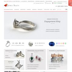 Design your own engagement ring with loose diamonds, fancy color diamonds or gemstones in 360°. See preset engagement rings, wedding rings & diamond jewelry.