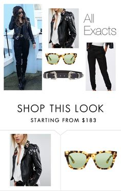 """""""eleanorj92: Hi Friday! / floral leather by @blanknycjeans (via @asos)"""" by thetrendpear-eleanor ❤ liked on Polyvore featuring BLANKNYC, Gucci and ASOS"""