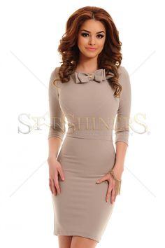PrettyGirl Vanity Cream Dress