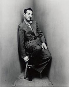 designer Adrian, 1948 photo by Irving Penn