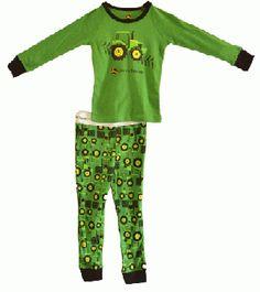 John Deere 2 Piece Green Tractor Toddler/Boys Pajama Set Toddler Pajamas, Boys Pajamas, Toddler Boys, Baby Kids, Baby Boy, Little Country Boys, John Deere Kids, John Deere Tractors, Kids Hats