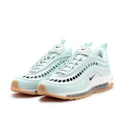 detailed look 63a33 520b9 Nike Womens Air Max 97 UL  17 SI Running Shoes 6 Barely Green Black