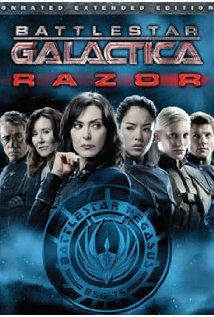 Battlestar Galactica: Razor (TV Movie 2007)  Located [Science Fiction] folder.