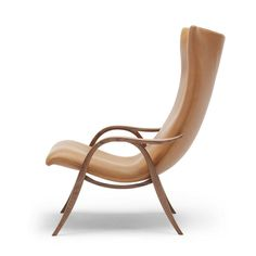 Frits Henningsen Signature Chair | FH429| SIF 95 Walnut Leather |  Walnut Frame | Carl Hansen and Son