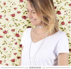 Gargantilha com correntes #acessórios #colar #gargantilha #necklace #lnl #looknowlook