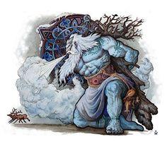 Ymir of Aurgelmir is in de Noordse mythologie het oudst ontstane levende wezen, Ymir wordt ook wel Brimir en Blainn genoemd in de Edda.