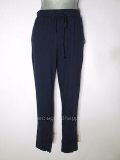 NEW Nautica Womens Pajama Pants Slim Ankle Style Bottoms Blue XL #Nautica #LoungePantsSleepShorts #Everyday