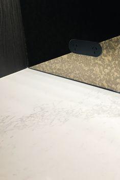 ZETR Double Outlet ZETR double outlet in matte black finished trimless, flush and recessed in glass splash back. Minimal Design, Modern Design, Minimal Architecture, Matte Black, Lighting Design, House Design, Interior Design, Glass, Minimalist Design