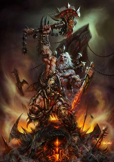 Diablo III barbarian my favorite class to play as! I loved using the leap and then stomping on enemies to stun them.