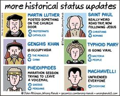 more historical status updates | Wrong Hands