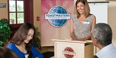 Overcome your public speaking fear and develop new presentation skills with Toastmasters