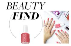 """The Beauty Find: Essie Cute as a Button"" by polyvore-editorial ❤ liked on Polyvore featuring beauty, Essie and beautyfind"