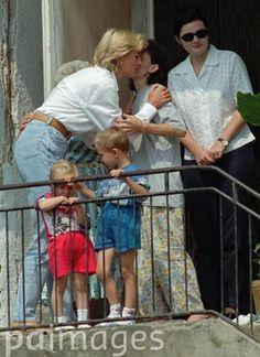 Princess Diana in Bosnia 1997