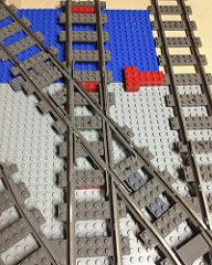 WIP Lego Diamond Crossing by michaelgale