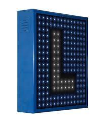 Grupo Empresarial PLAZALED - ROTULO LED ELECTRONICO AUTOESCUELA PREGRABADOS - PLAZALED rótulos led electrónicos, pantallas led electrónicas