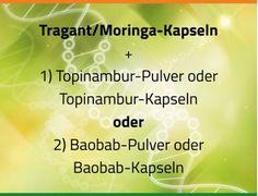 Astragalus (Tragant) mit Moringa - Zellverjüngung pur!