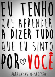 Por você!!