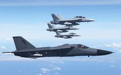 F111 with F18 Super Hornets