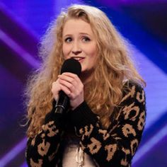 Janet Devlin. She's a good singer, young and definitely worth looking up!