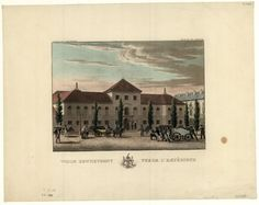 Dietrich, Fryderyk (1779-1847): Widok zewnętrzny, Vue de l'extérieur #PMA #Muzeum #Museum #Dietrich #Arsenał #Warszawa #Warsaw #State #Archaeological #Museum #Vintage