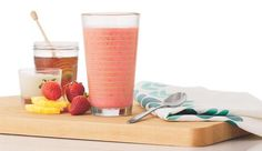 NATURAL CURE FOR GAS AND BLOATING  1/2 c chamomile or dandelion root tea cooled, 1 c strawberries,  1 c pineapple chunks,  1/2 c vanilla yogurt with live and active cultures,  1 tsp honey or maple syrup,  1/2 c ice cubes.  Place all ingredients in a blender and process on high to the desired consistency.
