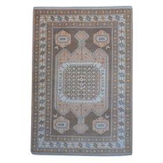 Herat Oriental Afghan Hand-knotted Vegetable Dye / Ivory Rug