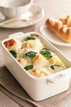 25 cenas saludables fáciles de hacer ¡y deliciosas! Veggie Recipes, Vegetarian Recipes, Cooking Recipes, Healthy Recipes, Cooking Ham, Good Food, Yummy Food, Kids Meals, Food And Drink