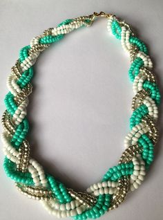 Full Braided bib Necklace