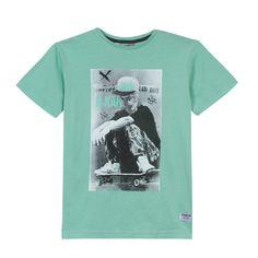 Camiseta Verde Tierno para Niño | B-Karo | Offemily