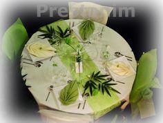 décoration de table exotique pour mariage