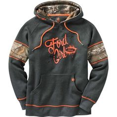 Women's Realtree Camo Muddy Buddy Ford Hoodie at Legendary Whitetails