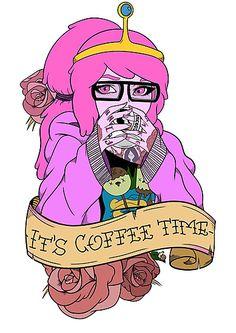 Adventure Time - It's Coffee Time (Princess Bubblegum)