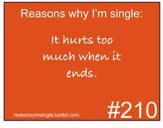 Reasons Why Im Single