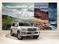 Toyota Land Cruiser by HAUS , via Behance