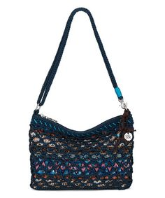 Love this Blue Vintage Geometric Convertible Clutch by The Sak on #zulily! #zulilyfinds