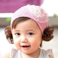Newborn Infants Girl Baby Bow Headband Hair Band Accessories Headwear Head Wr~GQ
