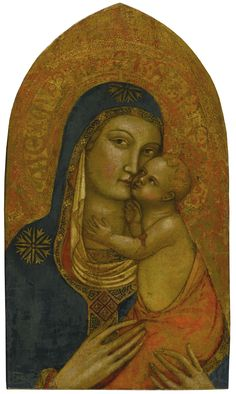 Master Of Popiglio - Madonna And Child Madonna And Child, Figurative Language, Old Master, 14th Century, Impressionist, Modern Art, Opera, Mona Lisa, Auction