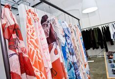 Bold, colourful printed scarves from Brit brand, Age of Reason