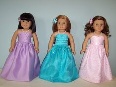 Site for homemade American Girl Doll clothes.