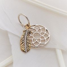 "Palas Jewellery Charm - ""Dream Catcher"" - Dream Catcher Charm available at www.seasonsemporium.com"