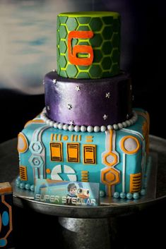 Miles from Tomorrowland Birthday Party | CatchMyParty.com