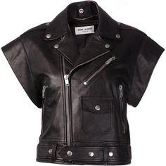 Saint Laurent Leather Jacket as seen on Mischa Barton