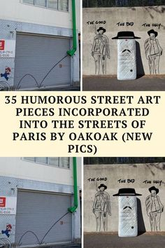 Various forms of street art like graffiti are a familiar sight in all our cities. Street art is there to surprise and inspire us,
