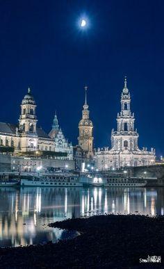 """Moon, Dresden, Germany"""